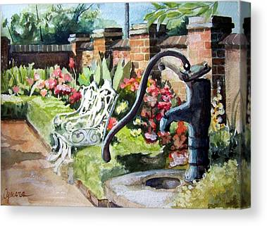 Antique Ironwork Paintings Canvas Prints