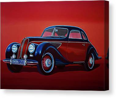 Automotive Art Series Canvas Prints