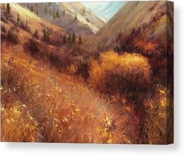 Late Autumn Canvas Prints
