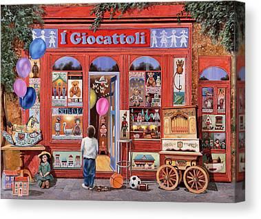 Toy Shop Canvas Prints