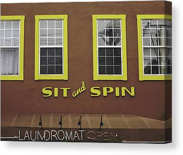 Spin Mixed Media Canvas Prints