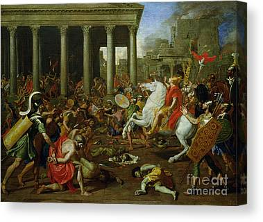History Of Rome Canvas Prints