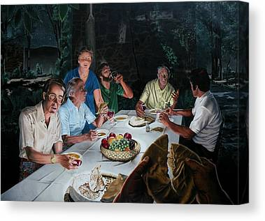 Last Supper Canvas Prints