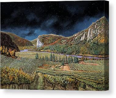 Luna Paintings Canvas Prints