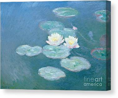 Lily Pond Canvas Prints