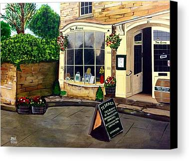 Street Cafe Paintings Limited Time Promotions