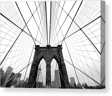 Brooklyn Bridge Canvas Prints