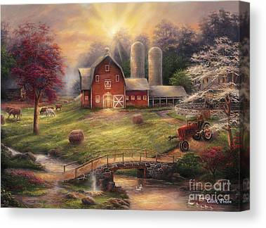 Dogwood Canvas Prints
