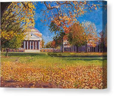 University Of Virginia Canvas Prints