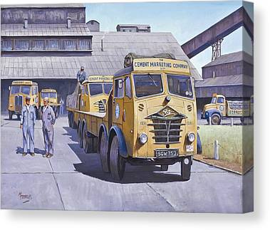 For Factory Canvas Prints