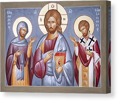 St Eleftherios Canvas Prints