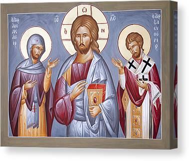 St Eleftherios Canvas Prints