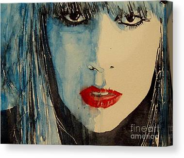 Lady Gaga Paintings Canvas Prints