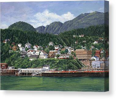 Ketchikan Canvas Prints