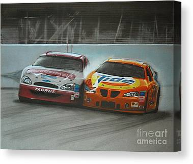 Kurt Busch Canvas Prints