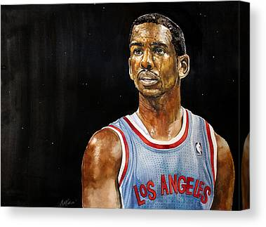 La Clippers Canvas Prints
