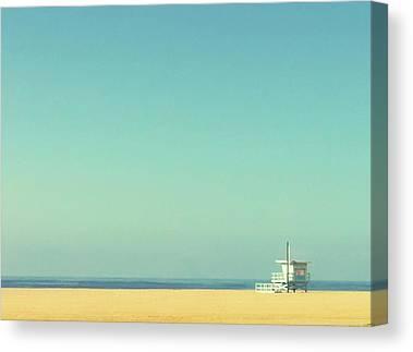 Santa Monica Canvas Prints