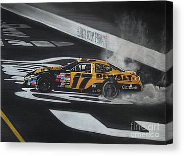 Matt Kenseth Canvas Prints