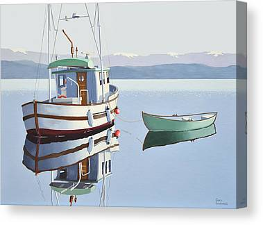 Gill Netter Canvas Prints
