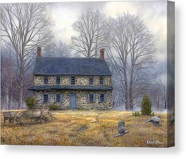 Quaker Paintings Canvas Prints