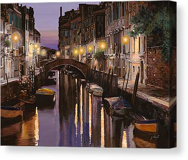 Dusk Canvas Prints