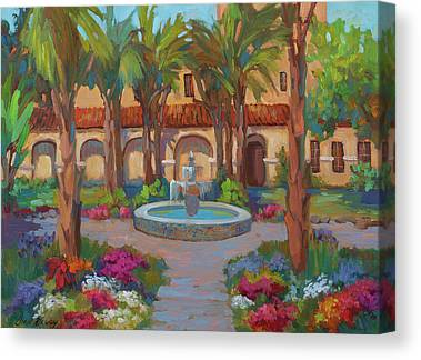 Mission San Rafael Canvas Prints