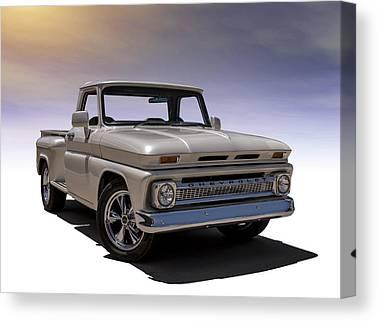 Chevy Pickup Canvas Prints