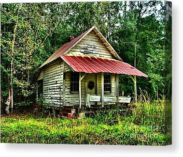 Abandoned Housese Canvas Prints