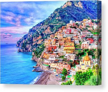 Adriatic Canvas Prints