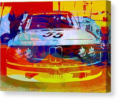 Bmw Vintage Cars Canvas Prints