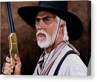Old West Canvas Prints
