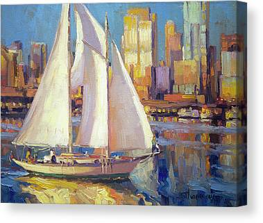 Elliot Bay Canvas Prints