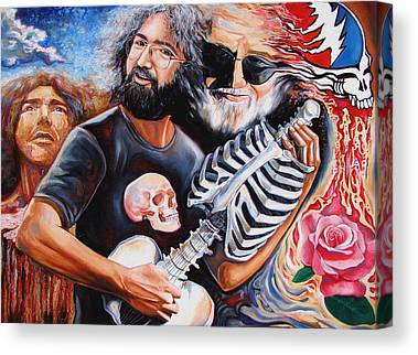 The Grateful Dead Canvas Prints