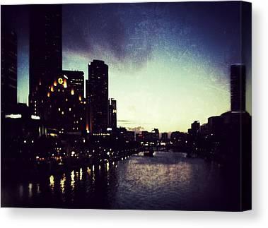 Melbourne Photographs Canvas Prints