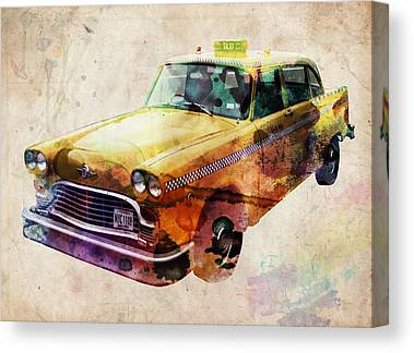 Taxis Canvas Prints
