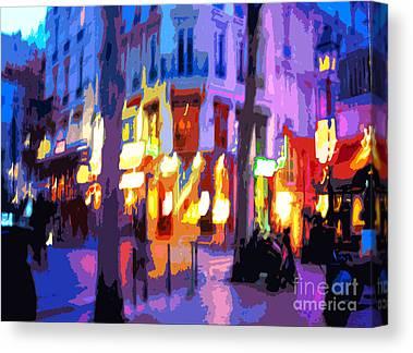 Digital Pfoto Canvas Prints