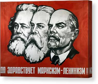 Socialism Canvas Prints
