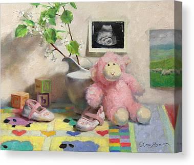 Block Quilts Canvas Prints