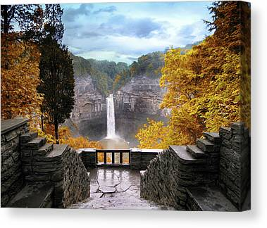 Taughannock Falls Canvas Prints