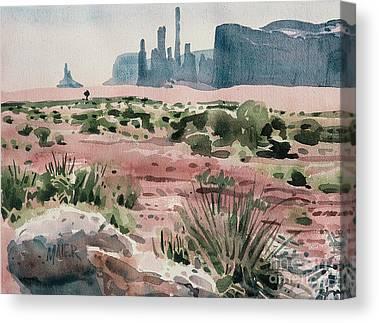 Totem Pole Canvas Prints