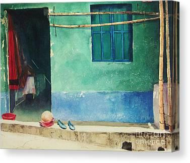 Guatemalan Home Canvas Prints