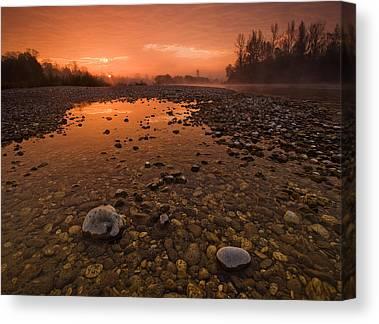 River Canvas Prints