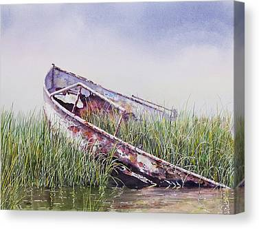 Marsh Canvas Prints