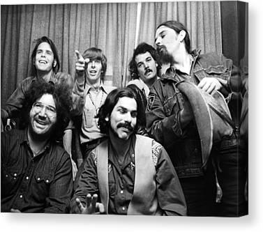Jerry Garcia Canvas Prints