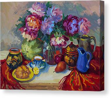 Russian-style Canvas Prints