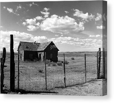 Old West Photographs Canvas Prints