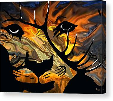 Metis Mixed Media Canvas Prints