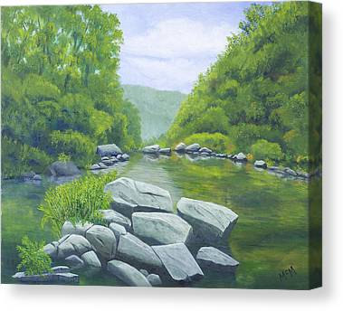 Richland Creek Canvas Prints