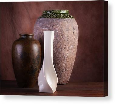 Ceramics Canvas Prints