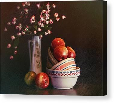 Mixing Bowls Canvas Prints